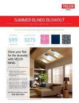 Summer Blind Sale