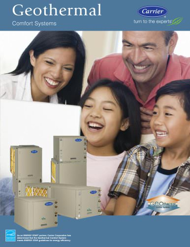 Carrier Geothermal Comfort Systems - Consumer Brochure