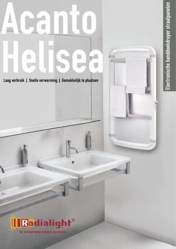 ACANTO - HELISEA: Electronische handdoekdroyer straalpanel