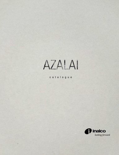AZALAI MONOGRAPHIC CATALOGUE