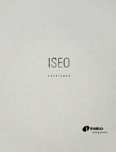 ISEO MONOGRAPHIC CATALOGUE