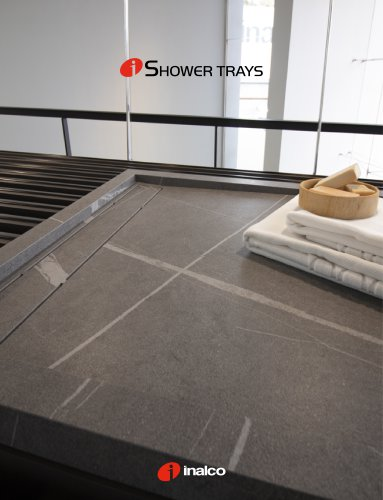 iSHOWER TRAYS GENERAL CATALOGUE