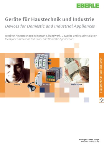 Devices for Domestic and Industrial Appliances