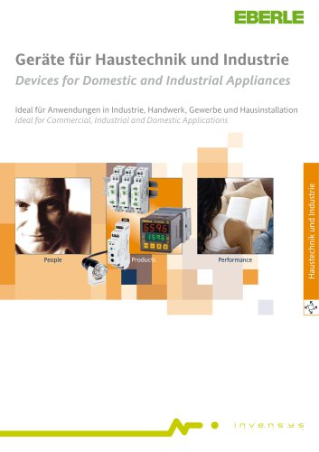 Devices for Domestic and Industrial Appliances Catalogue 3073