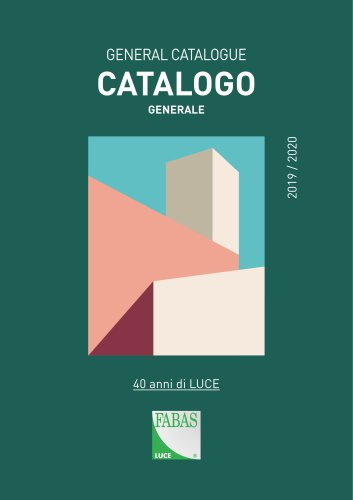 General Catalogue 2019-2020