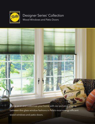 Designer Series® Wood Windows and Patio Doors