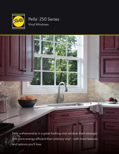 PELLA® 250 SERIES VINYL WINDOWS