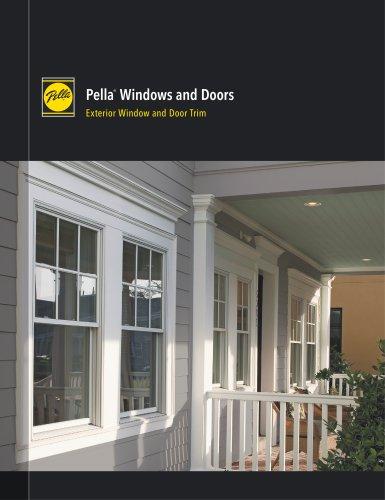 Pella ®  Windows and Doors Exterior Window and Door Trim