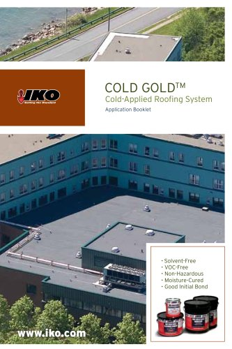 IKO Cold Gold Booklet