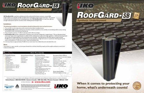 RoofGard-SB