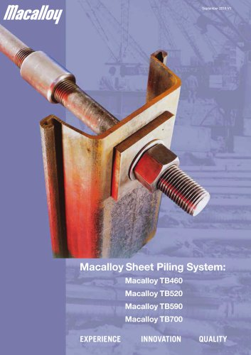 SHEET PILING SYSTEMS