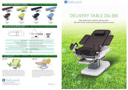 DELIVERY TABLE DG-385