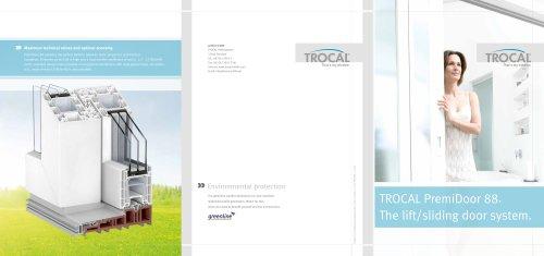 TROCAL PremiDoor 88 main brochure