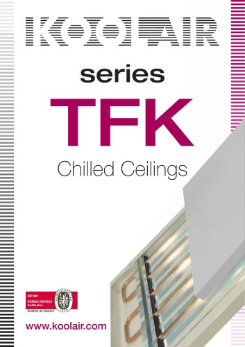 Chilled ceiling elements – TFK