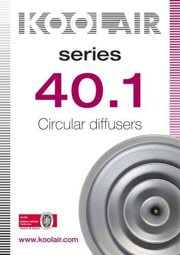 Circular diffuser – Series 40.1