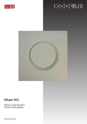 Circular diffusers – DCL