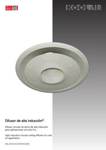 High induction diffuser – DAI