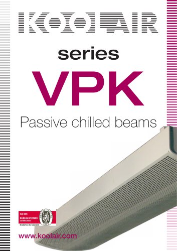 Passive chilled beams – VPK