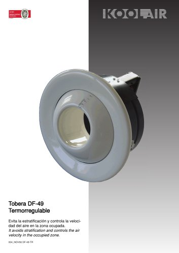 Rectangular long-throw nozzle – DF49TR