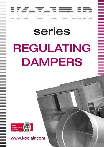 Regulating dampers