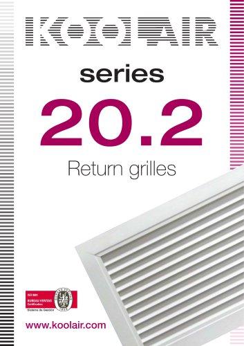 Return grilles – Series 20.2