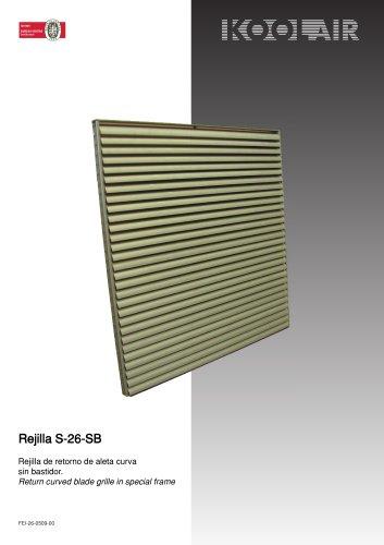 Return grilles – Series 26 SB