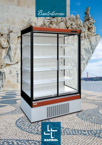 BARTOLOMEU by Mafirol - Refrigerated multideck (wall display case)