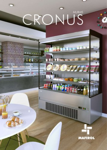 CRONUS line - refrigerated multidecks and low multidecks