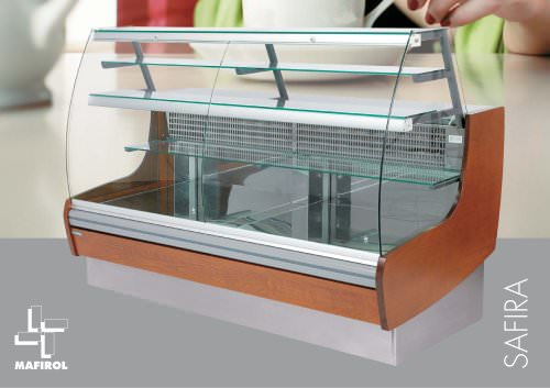 Refrigerated display case SAFIRA_MAFIROL