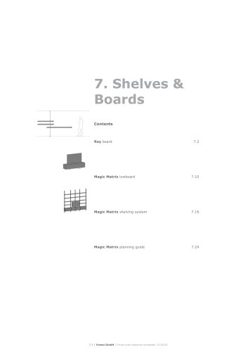 Shelfs & Boards