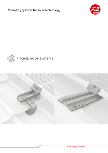Brochure: pitched roof systems