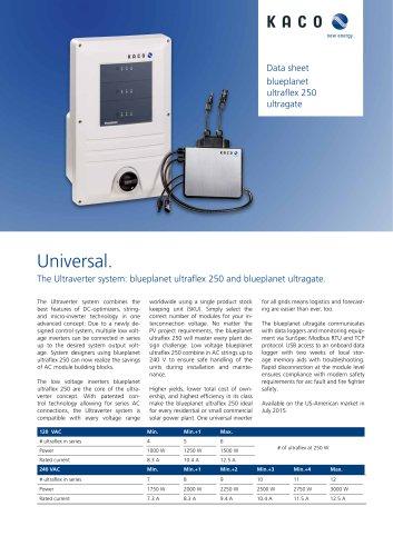 Blueplanet Ultraflex 250 Ultragate