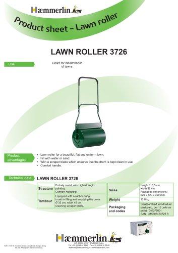LAWN ROLLER 3726