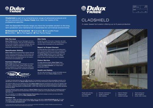 Cladshield Specifier Guide