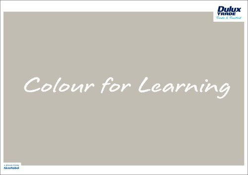 Colour For Learning