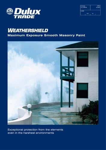 Weathershield Maximum Exposure Smooth Masonry Paint