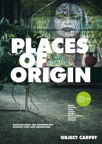PLACES OF ORIGIN