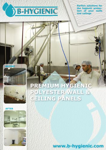 PREMIUM HYGIENIC  POLYESTER WALL &  CEILING PANELS