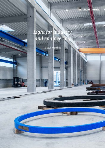 Light for industry and engineering: Metal working