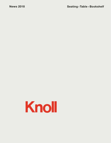 Knoll News 2018