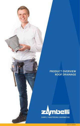 Product Overview Roof Drainage